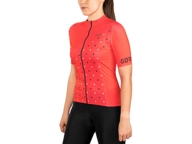 GORE WEAR C3 Maillot Mujer, hibiscus pink/white